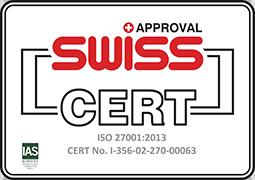 Swiss Certificate 27001